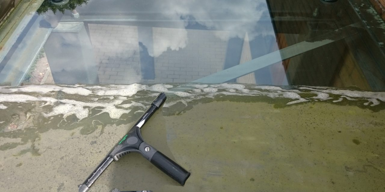 Window and conservatories cleaning